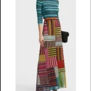 MISSONI SPORT KNIT MAXI SKIRT